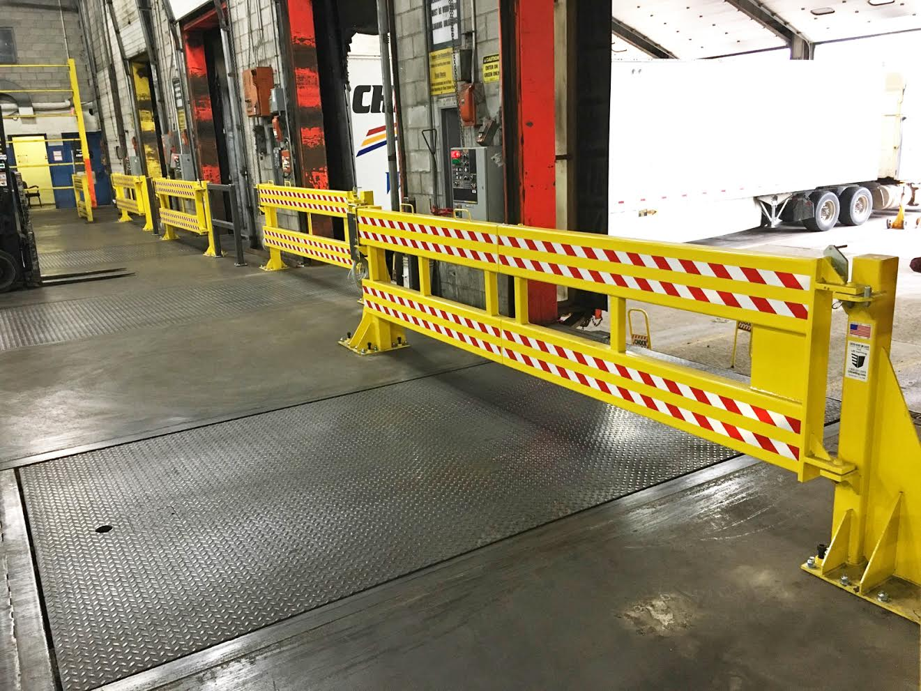 Gates Installed at GM Facility