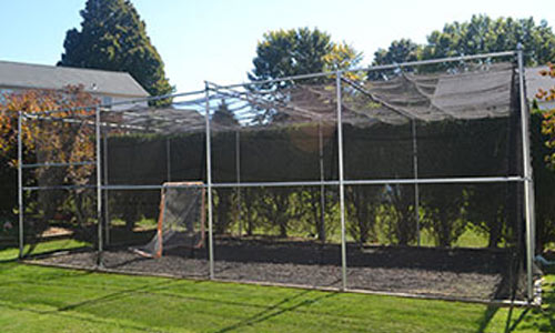 Batting Cage Nets US Netting - Backyard batting cages for sale