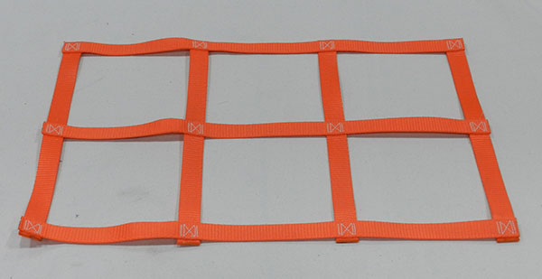 Polypropylene webbing netting material