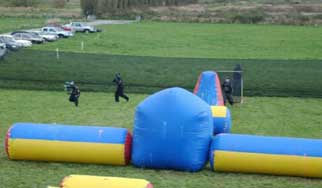 Paintball Barrier Netting