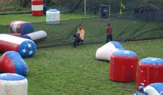 Paintball Courses Barrier
