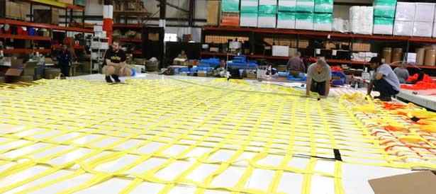 Jumbo Lifting Nets for Cargo