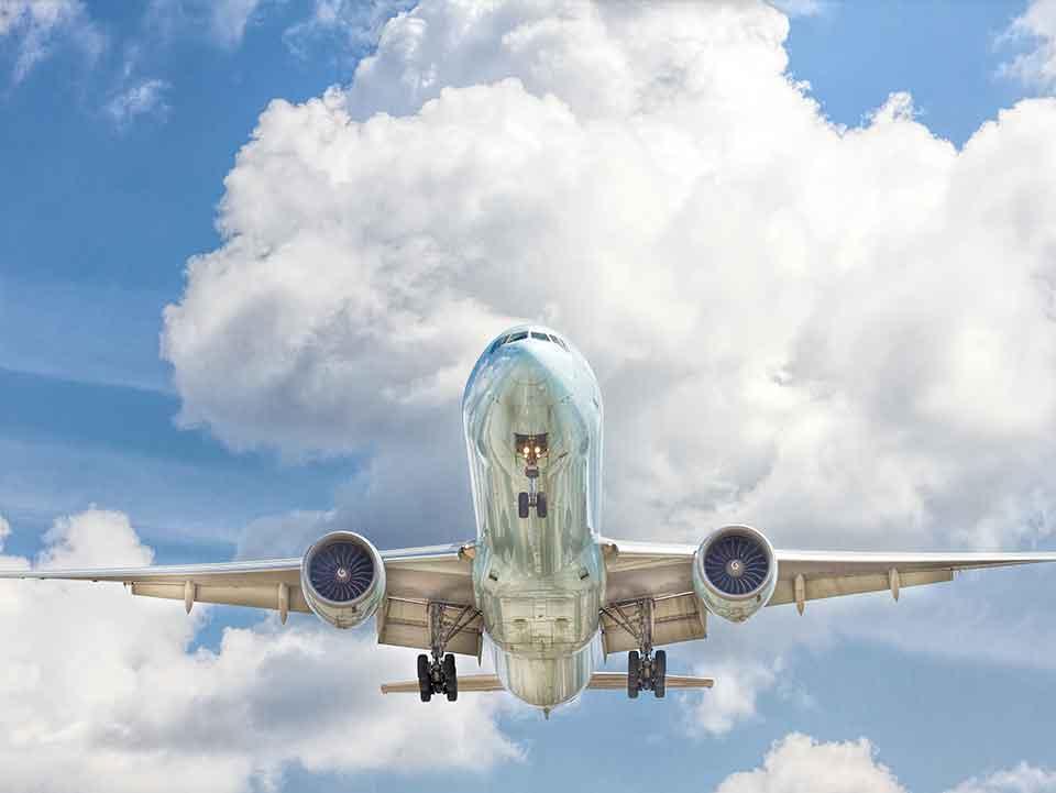 Boeing Plane Landing