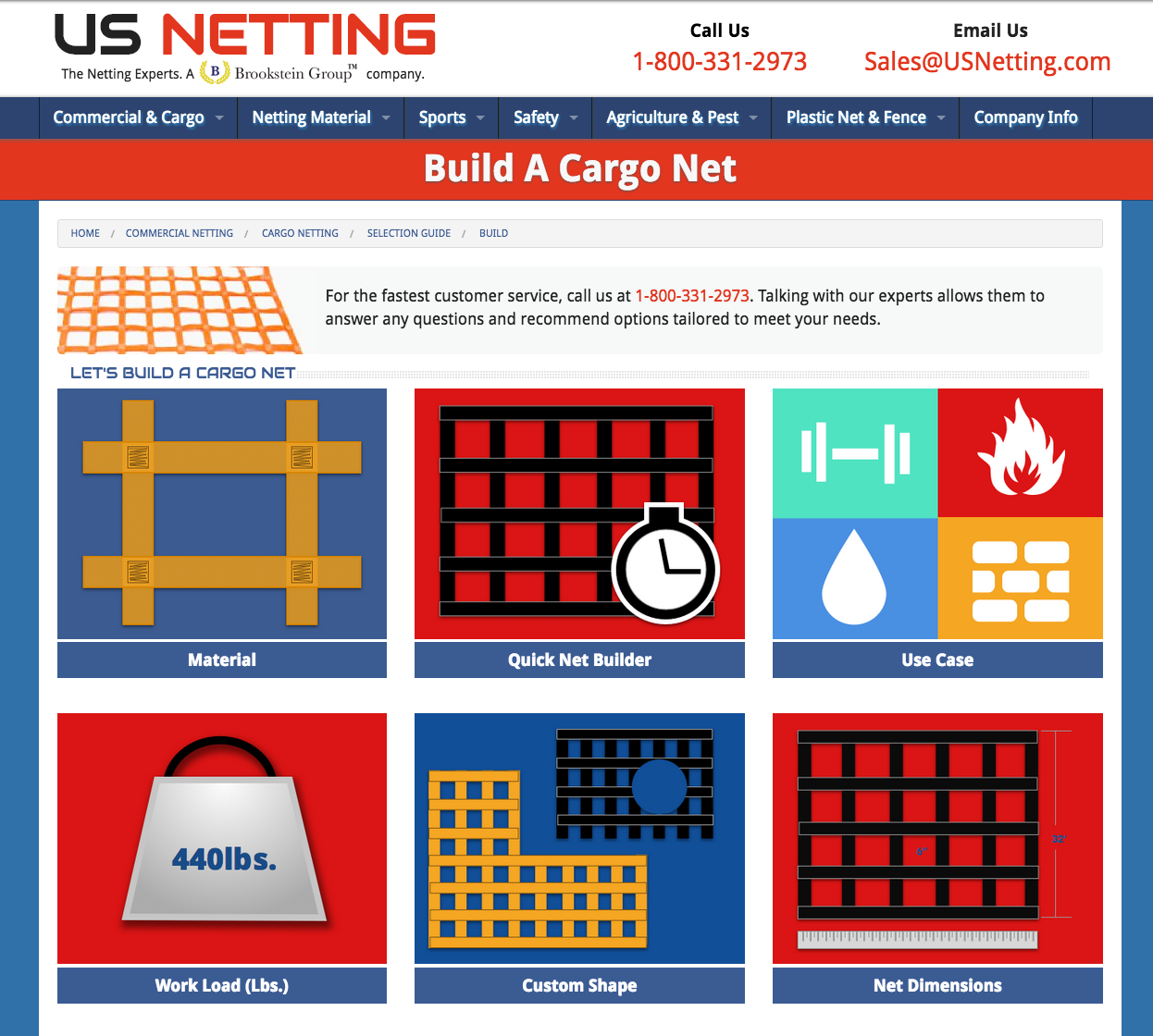 New Custom Cargo Net Features