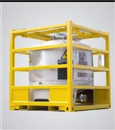 Yellow DNV Netting Container