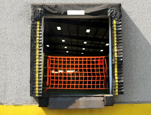 Dock Safety Net In-Use