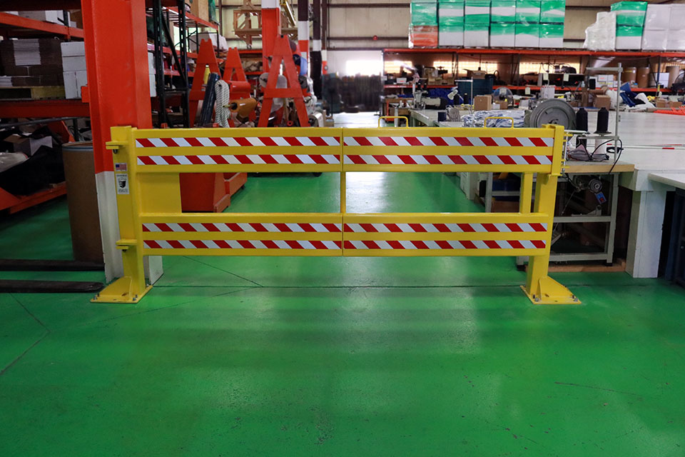 Defender Gate™ 20 used as entry barrier