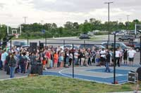 Memorial Court dedication