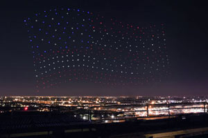 Intel Shooting Star Drones