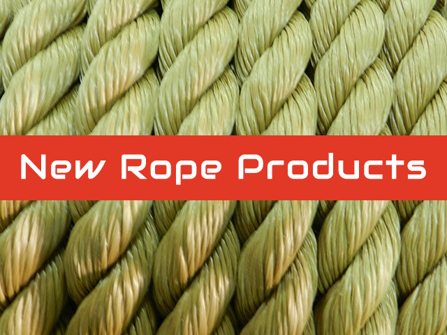 New Rope Products