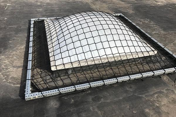 Skylight Netting In Use