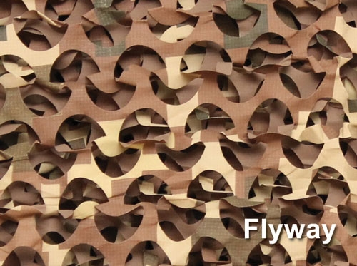 Flyway camo netting