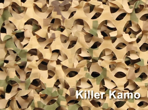 Camouflage Netting Rolls Available In Various Patterns And