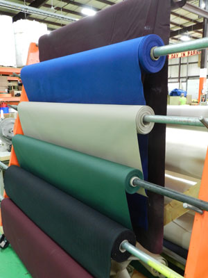 Dyed Polyester Rolls