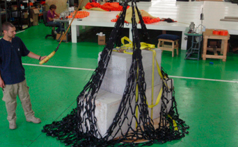 cargo lifting net
