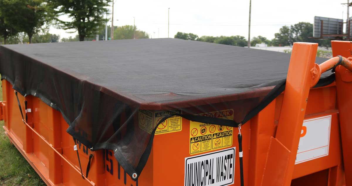 New Dumpster Cover