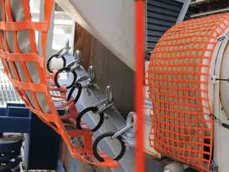 Kevlar™ Reinforced Net