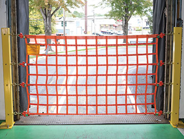 Loading Dock Safety Nets and Dock Barriers