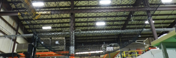 Hanging Fall Safety Net