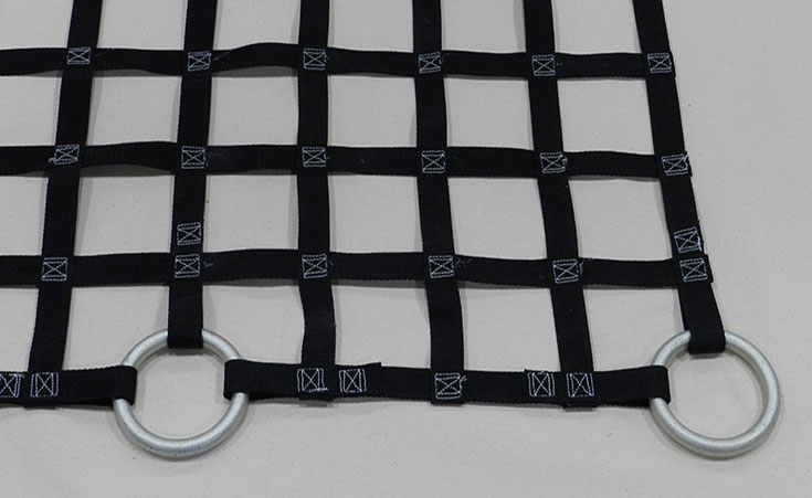 Cargo Netting with Sewn In Loop