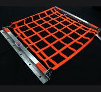 aluminum hatch net assembled