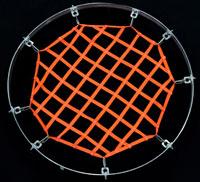 circle hatch net secured