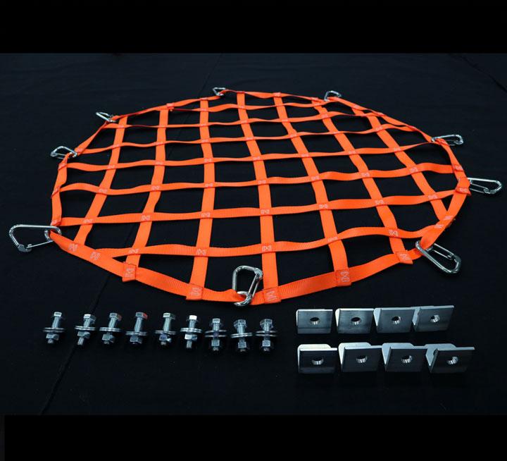 angled circle hatch net