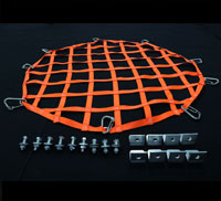 perspective view of circle hatch net