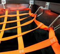 hatch net top down view