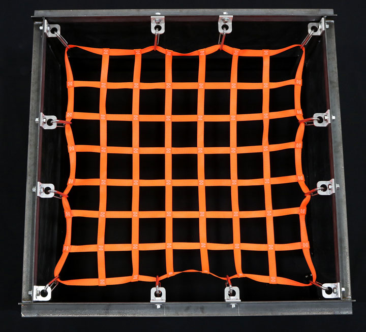 Square Attached Net