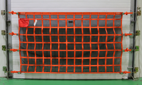 Wall Mounted Loading Dock Net Kit with Debris Liner
