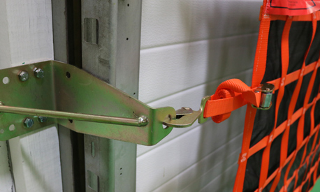 Wall mounting bracket and safety hook