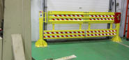 Installing the Loading Dock Safety Net