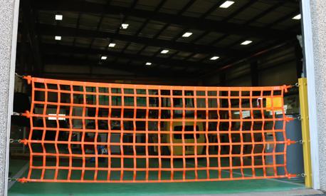 Wall Mounted Loading Dock Safety Nets Us Netting