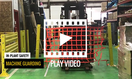 Post Mounted Dock Net VIDEO