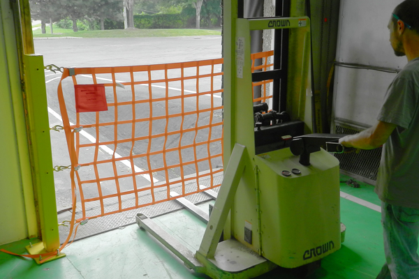 Loading Dock Safety Solutions Gates Netting And More