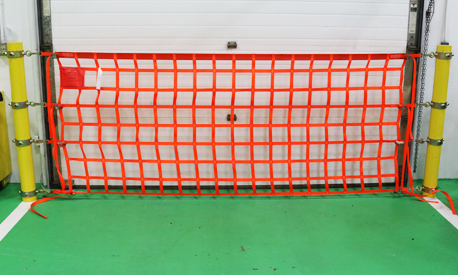 Straight On Bollard Safety Ring Net Package