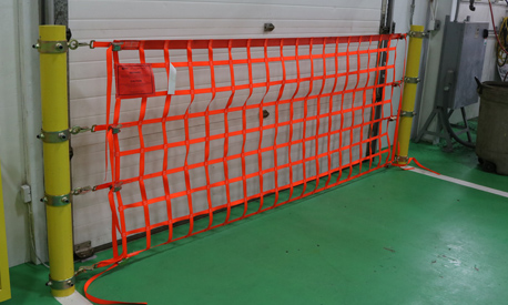 Existing Bollard Net Ring Mounted Angle