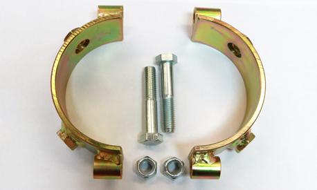 Existing Bollard Net Ring Install
