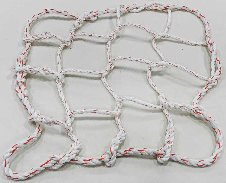 Rope cargo net example