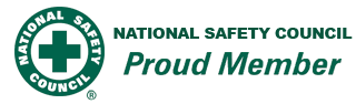 Proud member of the National Safety Council