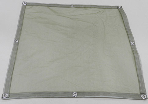 Olive drab mosquito netting panel