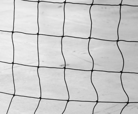 Raw Paneled Netting
