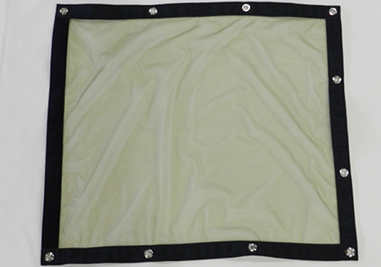 Mosquito screen panel in olive drab