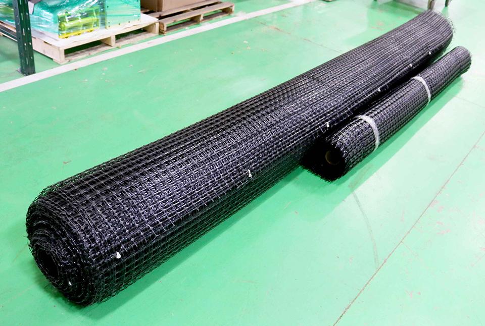 Rack Safety Netting Systems For Pallet Racks