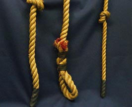 Knotted Manila Climbing Rope