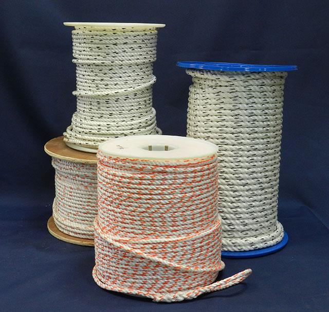 3 strand combo polypropylene or polyester