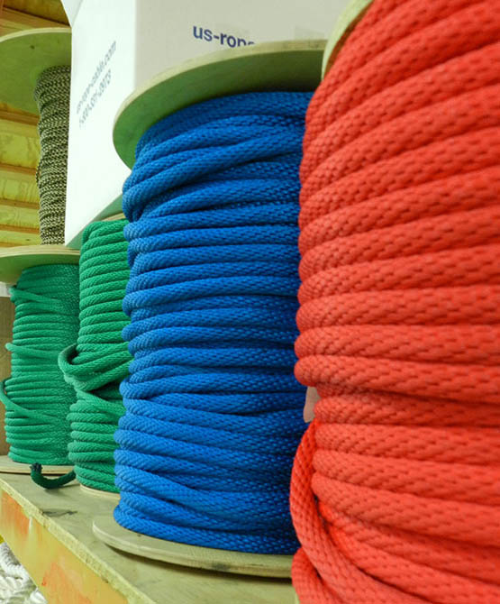 solid braid polypro rope