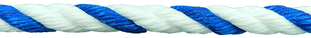 Close up of swim line rope