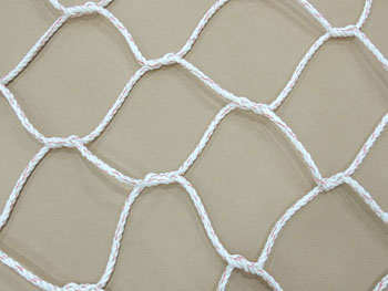 Poly Dacron Rope cargo net mesh close up